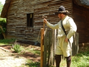 Colonial Man with Ax