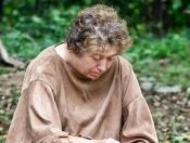 Native American Woman Making a Pot