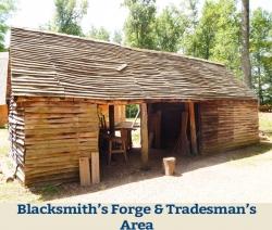 Blacksmith's Forge & Tradesmen's Area