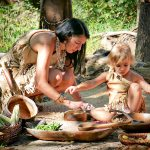 Powhatan Cooking with Child