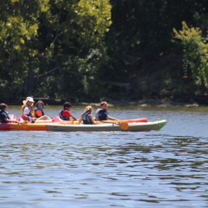 Summer Camp Kayaking on James River