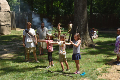 Camp Pocahontas Kids Shooting Bows