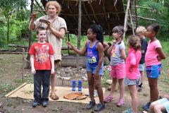 Camp Pocahontas Kids Outside