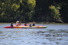 James River Camp Kids Kayaking