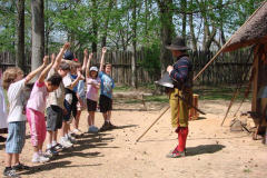 Kids Learning About Militia